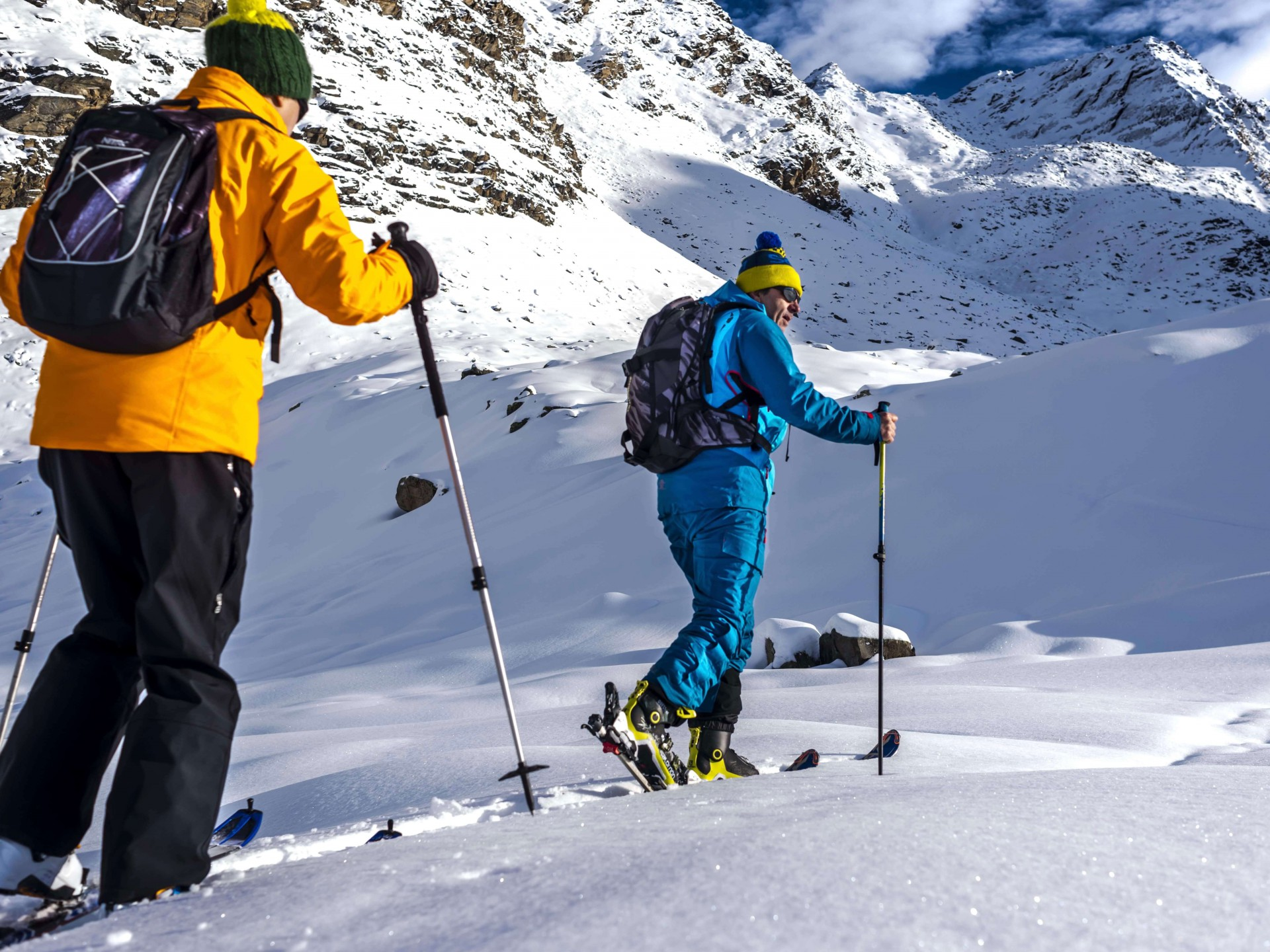Night Ski or Splitboard touring
