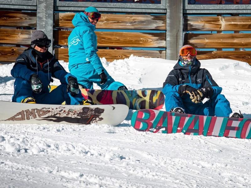 Snowboard / tout compris -  spécial débutants matin
